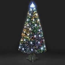 6ft Colour Changing Lantern Fibre Optic Christmas Tree
