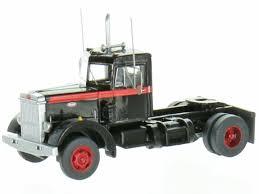 Trainworx 45027: Peterbilt 280 Truck Schwarz-rot. 1:160 - DM-Toys