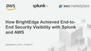Nasdaq Directors Desk Secure Viewer by Brightedge Achieves End To End Security Visibility With Splunk And Aws