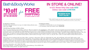 Printable coupons bath and body works in store Cyber monday