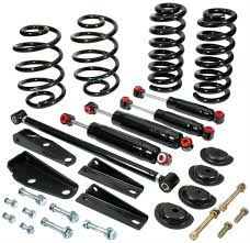 100 Drop Kits For Trucks Classic Performance Deluxe Lowering 6372CSSKD Free Shipping
