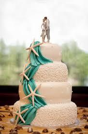 Elegant Beach Wedding Cakes