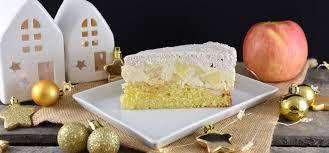weihnachtliche apfel zimt torte