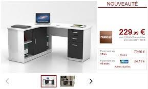 vente unique bureau bureau d angle norwy pas cher bureau vente unique ventes pas