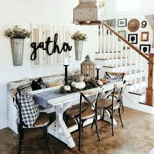 Rustic Dining Room Centerpieces Table Decorations