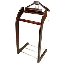 Mens Dresser Valet Plans by Men U0027s Suit Brown Wood Valet Stand Free Shipping Today
