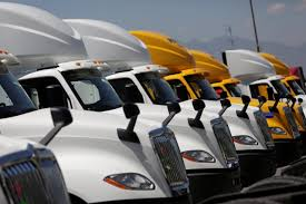 Trucking Companies Boost Big-Rig Orders On Rising Shipping Demand - WSJ Americas Premier Trucking Shipping Company Lht Long Haul Hayes Manufacturing Wikipedia Wner Enterprises Professional Flatbed Trucking Company Ellis Llc Spring Truck Trailer Transport Express Freight Logistic Diesel Mack May Calculating Costpermile For Companies Know Your Costs Costco Drops Port Labor Abuses Walter Clark Us Top 50 History Of The Industry In United States Adams Flatbed And Pnuematic