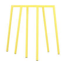 jan kurtz benito tischbock 2er set gelb lxbxh 110x70x73cm