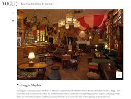 Vogue Names Mr Fogg's Residence One Of The 'Best Cocktail Bars In ... 13 Brilliant Bars In Shoreditch Time Out Ldon Cocktail Lounge Zth Hotels We Love Hotel 100 Design The Best Bars For All Lovers Marks Hix Restaurants Nola Roman Road Worlds Bar Ldons Connaught Wins Top Spot At 5 Of Secret Hidden Obis 360 2017 Vogue Edit British Happy Hours The Best Drink Deals And Offers Oriole Bookings Chai Ki