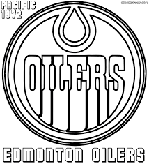 NHL Logos Coloring Pages