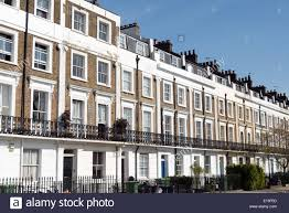 100 Georgian Terrace House D S Stock Photos D