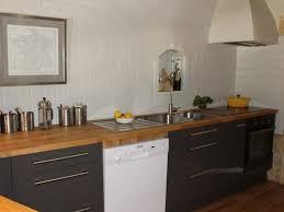 cuisine gris bois cuisine bois et blanc laqu fabulous beautiful cuisine home