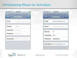 Provisioning and Mobile Device Management for iPhones iPads and And…