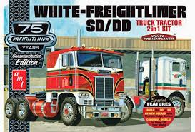 AMT White Freightliner 2-in-1 SD/DD Cabover 1046 1/25 Model Building ... Bigfoot Amt Ertl Monster Truck Model Kits Youtube New Hampshire Dot Ford Lnt 8000 Dump Scale Auto Mack Cruiseliner Semi Tractor Cab 125 1062 Plastic Model Truck Older Models Us Mail C900 And Trailer 31819 Tyrone Malone Kenworth Transporter Papa Builder Com Tuff Custom Pickup Photo Trucks Photo 7 Album Ertl Snap Fast Big Foot Monster 1993 8744 Kit 221 Best Cars Images On Pinterest