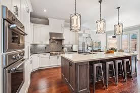 traditional kitchen with simple marble counters limestone