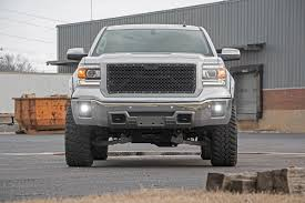 2-inch Black Series CREE LED Fog Light Kit (GMC Sierra 1500) - Dunks ...