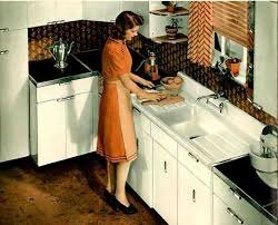 Vintage Youngstown Kitchen Sink by Vintage 1941 Montgomery Ward Metal Kitchen Cabinets Retro Renovation