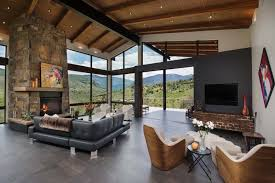 100 Mountain Home Architects Elegant Mountain Contemporary Home In Colorado Radiates With