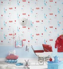 papier peint chambre b b mixte 25 idées papier peint pour décorer la chambre d enfant