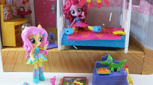 My Little Pony Bed Set by Unboxing My Little Pony Equestria Girls Minis Pinkie Pie Slumber