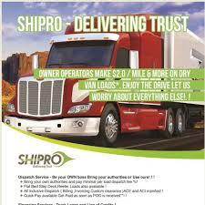 100 Truck Dispatch Service Shipro Freight Forwarding In BRAMPTON