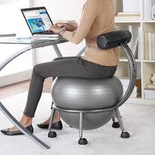 Gaiam Classic Balance Ball Chair Charcoal by Gaiam Bosu Ball Chair Best Chair Decoration