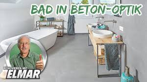 bad in beton optik renovieren mit elmar