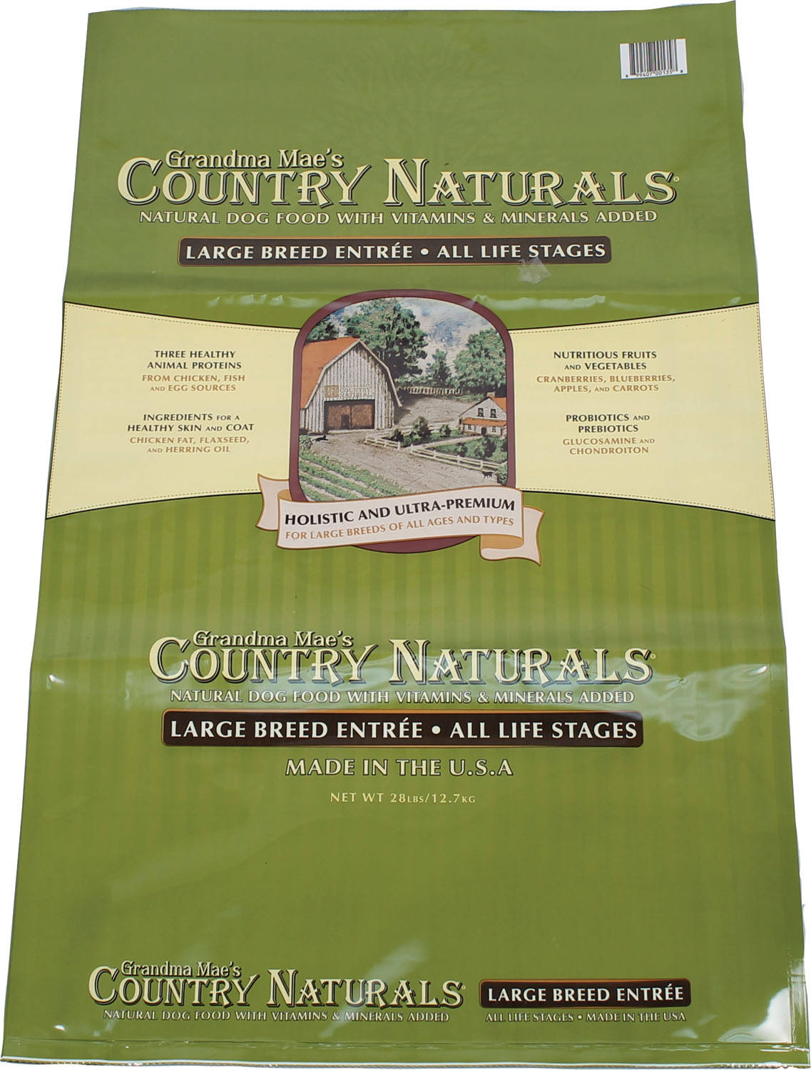Grandma Mae S Country Nat Large Breed Dog Food 28 lb