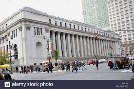 The US Post office in New York City Stock Royalty Free