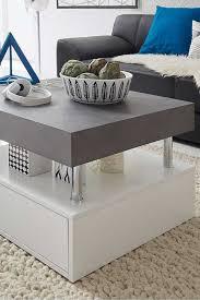 design couchtisch adrias in weiß grau couchtisch modern