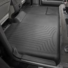Weathertech Floor Mats 2009 F150 by Weathertech 441793 Digitalfit 2nd Row Black Molded Floor Liner