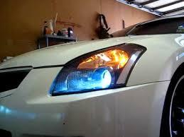 07 08 nissan maxima headlight vid for raz76