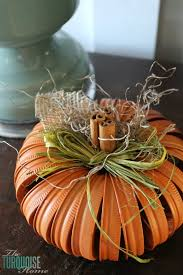 Make Dryer Vent Pumpkins by Turquoise And Orange Fall Home Tour Theturquoisehome Com Fall