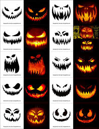 Scariest Pumpkin Carving by Horror Pumpkin Carving Templates The Best Car 2017
