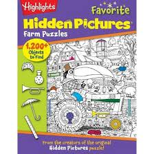 Highlights Hidden Pictures Favorite Farm Paperback By For Children