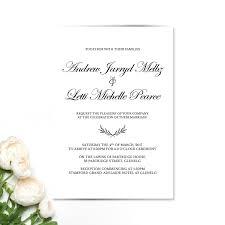 Letti Andrew Wedding Invitation