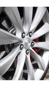 100 Tire By Mark Rack Lists Tesla Model S P100D InsideEVs Photos
