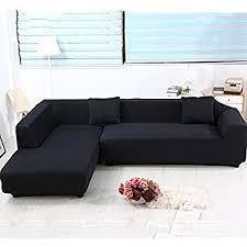 amazon com premium quality sofa covers for l shape 2pcs