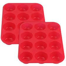 6er silikon mini kuchen backform gugelhupf