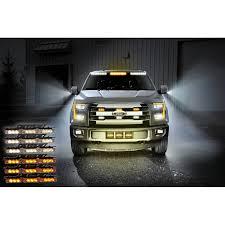 100 Emergency Strobe Lights For Trucks Zone Tech 54 LED Warning WhiteAmber