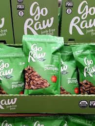 Go Raw Sprouted Pumpkin Seeds Bar by Best Healthy Snacks From Costco Back To The Book Nutrition