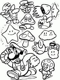 31 Dessins De Coloriage Mario à Imprimer