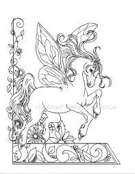 Flower Garden Coloring Pages For Adults Vegetable Sheet To Print Adult Page Fantasy Fairy Horse Flowers