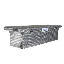 100 Aluminum Truck Tool Boxes Kobalt 73014003 70in X 19in X 15in FullSize Crossover Box