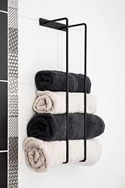 owels halter massivstahl metall handgefertigte handtücher badetücher wandhalterung badaccessoires modernes dekoratives design handtuchhalter für