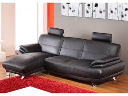 canapé d angle cuir de buffle d angle en cuir de buffle start noir angle gauche