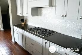 groutless kitchen backsplash 8mm of pearl kitchen