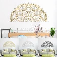 details zu mandala wandaufkleber wandtattoo dekor kunst wohnzimmer schlafzimmer