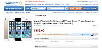 Walmart to Sell the iPhone 5s for $189 iPhone 5c for $79 iClarified