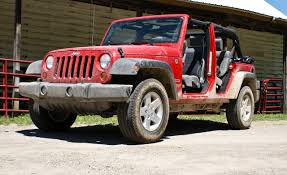 jeep wrangler 5 porte 2010 jeep wrangler unlimited sport review car and driver